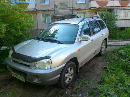 Hyundai Santa Fe 2005 - отзыв владельца
