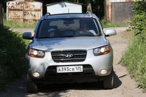 Hyundai Santa Fe 2009 - отзыв владельца