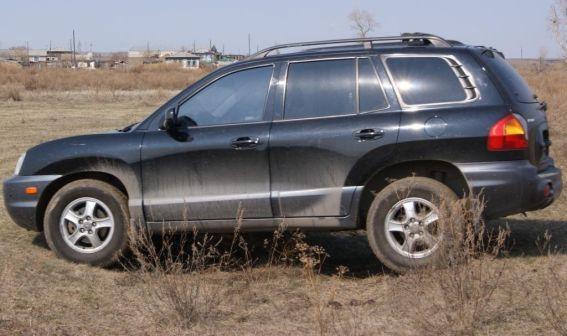 Hyundai Santa Fe Classic 2002 - отзыв владельца
