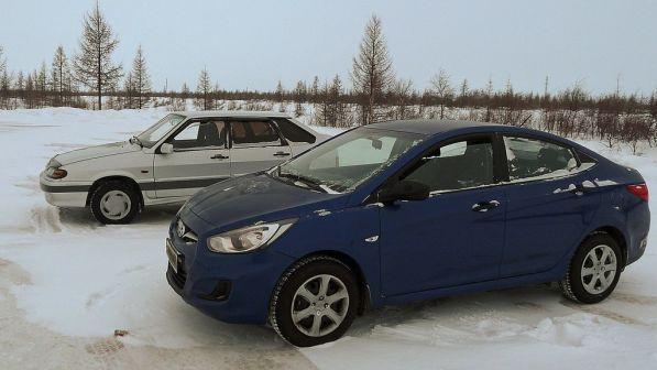Hyundai Solaris 2011 - отзыв владельца
