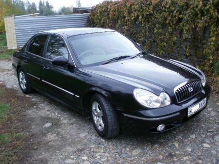Hyundai Sonata 2004 - отзыв владельца