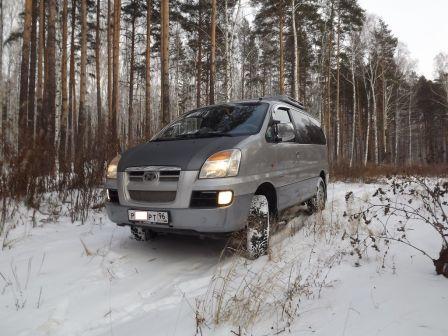 Hyundai Starex 2004 - отзыв владельца