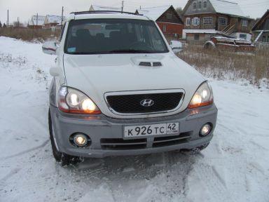 Hyundai Terracan, 2002
