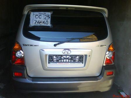 Hyundai Terracan 2002 - отзыв владельца