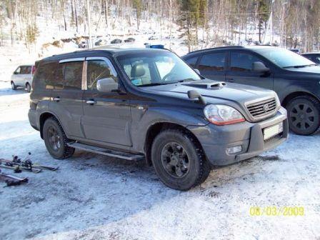 Hyundai Terracan 2004 - отзыв владельца