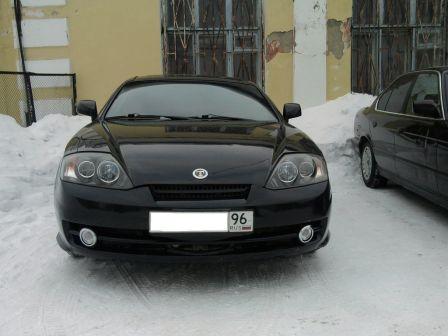 Hyundai Tuscani 2002 - отзыв владельца