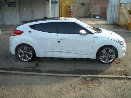 Hyundai Veloster 2011 - отзыв владельца
