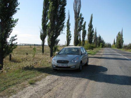 Hyundai Verna 2008 - отзыв владельца