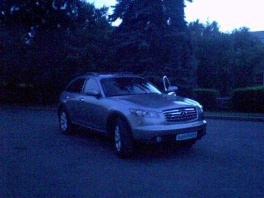 Infiniti FX35, 2004
