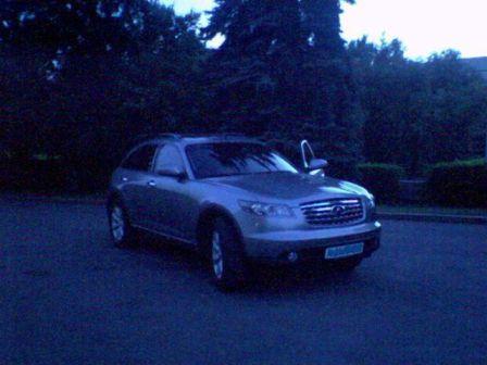Infiniti FX35 2004 - отзыв владельца