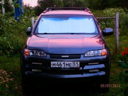 Isuzu Axiom 2002 - отзыв владельца