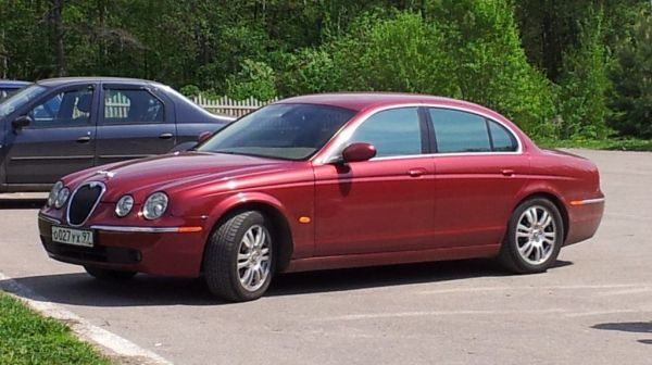 Jaguar S-type 2006 - отзыв владельца