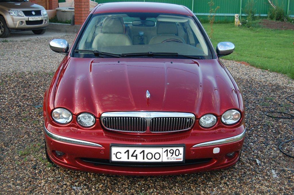 Jaguar x type 2007