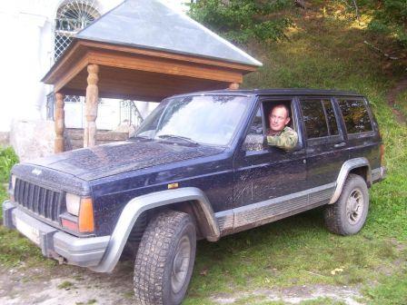 Jeep Cherokee 1990 - отзыв владельца