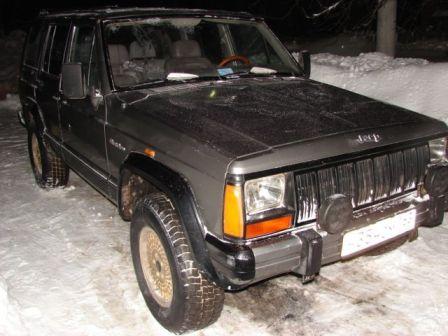 Jeep Cherokee 1989 - отзыв владельца