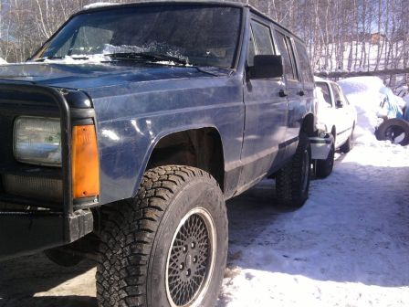 Jeep Cherokee 1988 - отзыв владельца