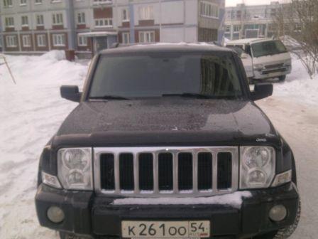 Jeep Commander 2008 - отзыв владельца