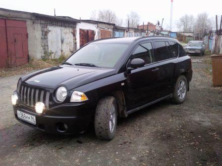 Jeep Compass 2007 - отзыв владельца