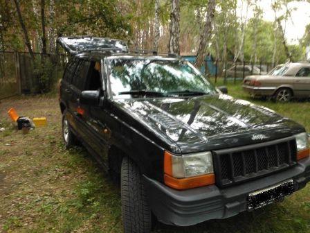 Jeep Grand Cherokee 1998 - отзыв владельца