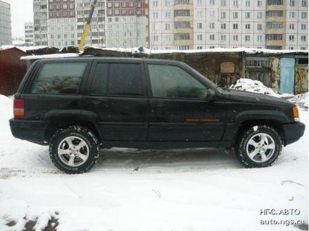 Jeep Grand Cherokee 1996 - отзыв владельца