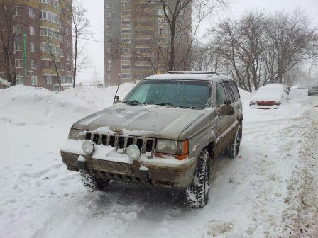 Jeep Grand Cherokee 1995 - отзыв владельца