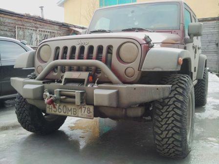 Jeep Wrangler 2007 - отзыв владельца