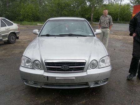 Kia Magentis 2005 - отзыв владельца