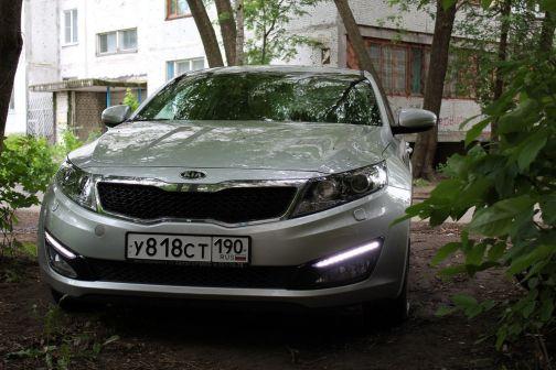 Kia Optima 2011 - отзыв владельца