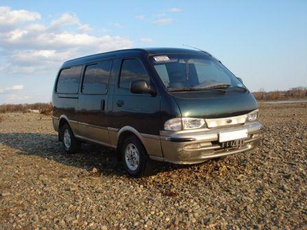 Kia Pregio 1996 - отзыв владельца