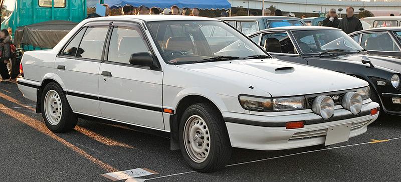 Вот такой был блюберд в  кузове U12. Только мой был серый.