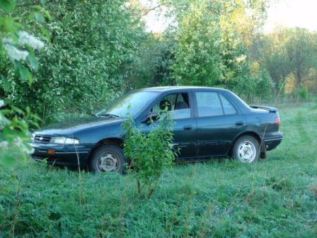 Kia Sephia 1994 - отзыв владельца