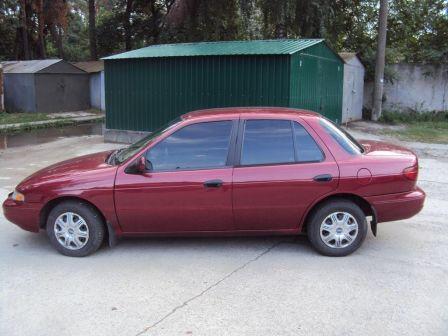 Kia Sephia 1996 - отзыв владельца