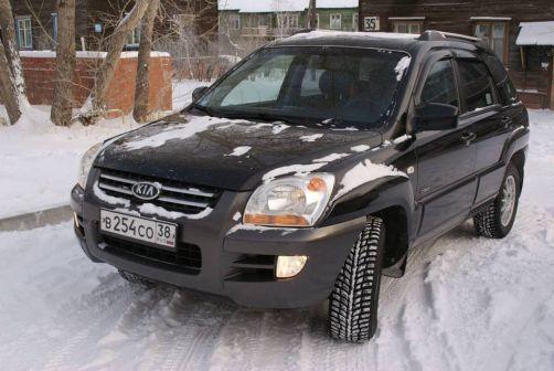 Kia Sportage 2005 - отзыв владельца