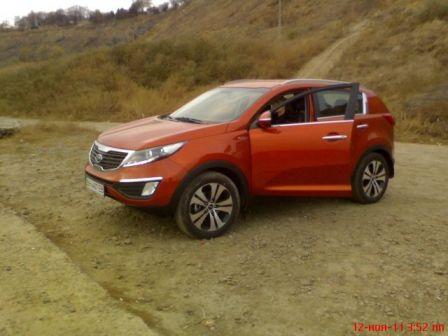 Kia Sportage 2011 - отзыв владельца