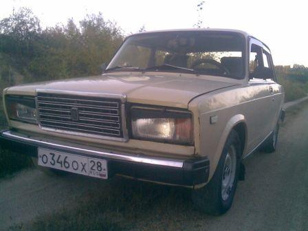 Лада 2107 1986 - отзыв владельца