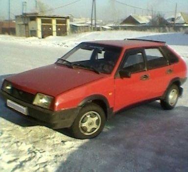 Лада 2108, 1986