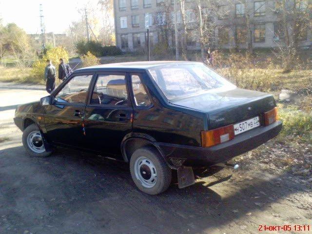 Lada 2109 жопа
