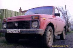 Лада 4x4 2121 Нива, 1997