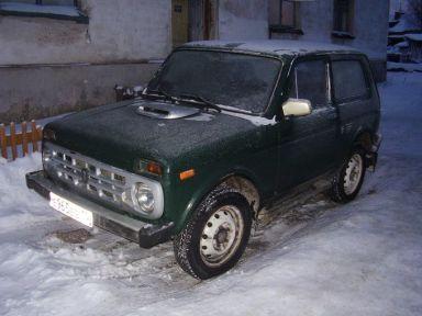 Лада 4x4 2121 Нива, 1998