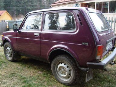 Лада 4x4 2121 Нива, 2001