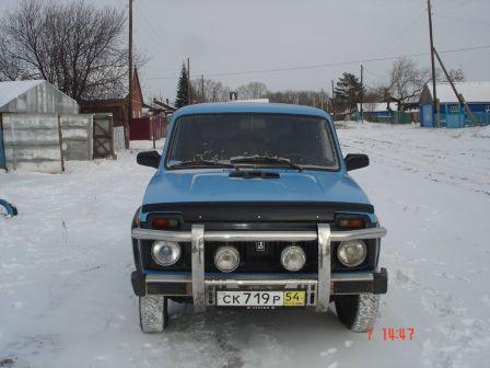 Лада 4x4 2121 Нива 1985 - отзыв владельца