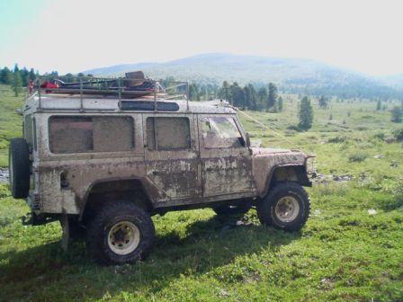 Land Rover Defender 1995 - отзыв владельца