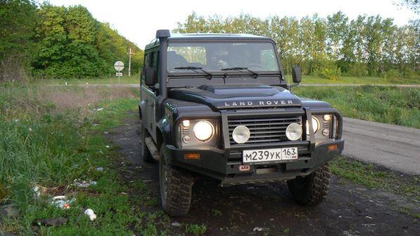 Land Rover Defender 2009 - отзыв владельца