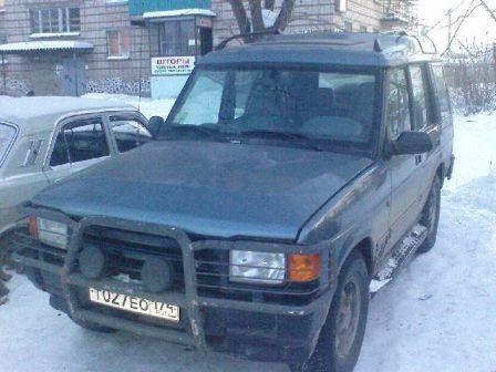 Land Rover Discovery 1996 - отзыв владельца