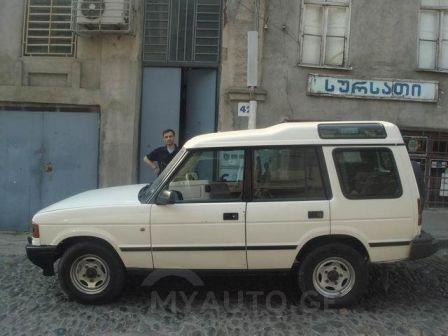 Land Rover Discovery 1994 - отзыв владельца