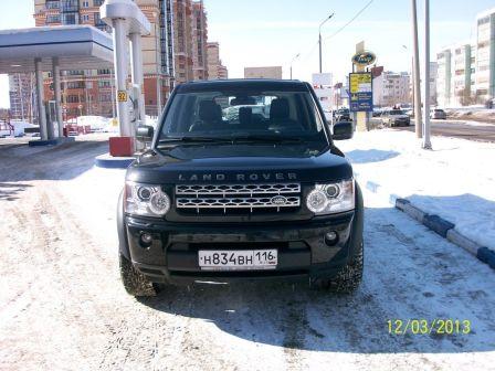 Land Rover Discovery 2010 - отзыв владельца