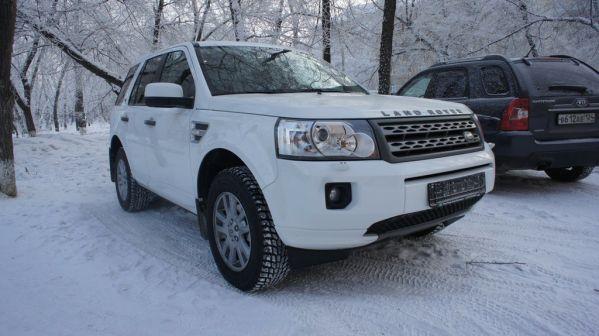 Land Rover Freelander 2010 - отзыв владельца