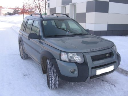 Land Rover Freelander 2004 - отзыв владельца