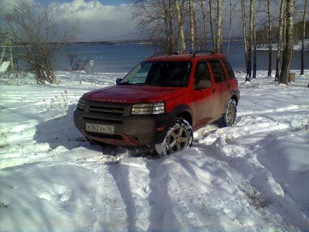 Land Rover Freelander 2002 - отзыв владельца