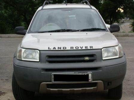 Land Rover Freelander 2001 - отзыв владельца